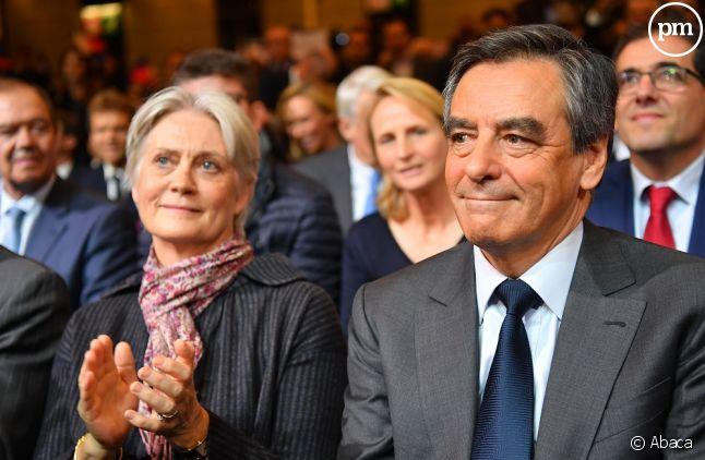 Penelope Fillon et François Fillon