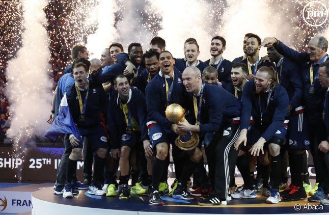 La France gagne la finale du mondial de handball.