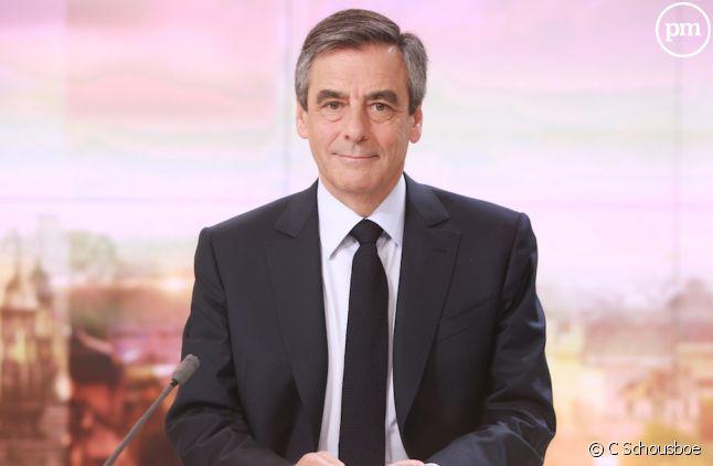 François Fillon, invité du 20 Heures de France 2, le 5 mars 2017