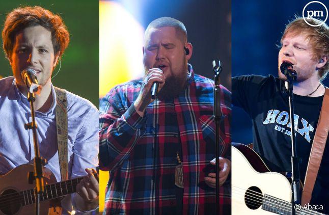 Vianney, Rag'n'Bone Man et Ed Sheeran