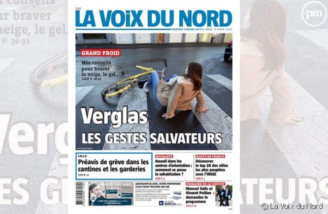 """Plan social à """"La Voix du Nord"""""""