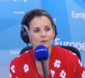 Faustine Bollaert sur Europe 1.
