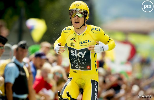 <span>Geraint Thomas sur le Tour de France</span>