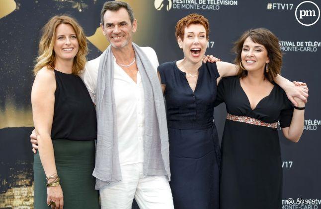 """Une partie du cast de """"Plus belle la vie"""" au festival de Monte Carlo"""