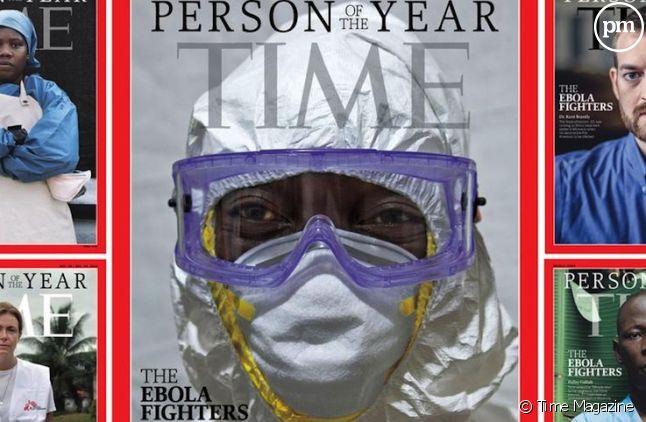 """<span>Les combattants d'Ebola à l'honneur du """"Time Magazine""""</span>"""