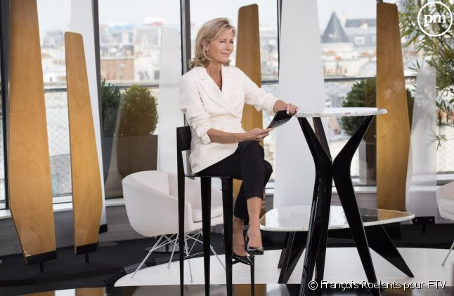 """Claire Chazal dans """"Entrée libre"""""""