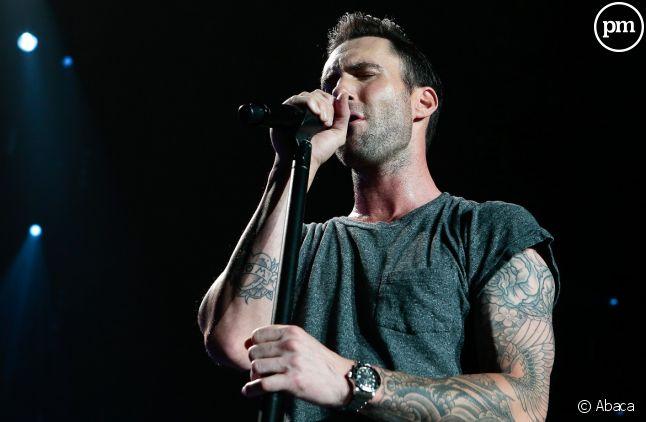 Adam Levine du groupe Maroon 5