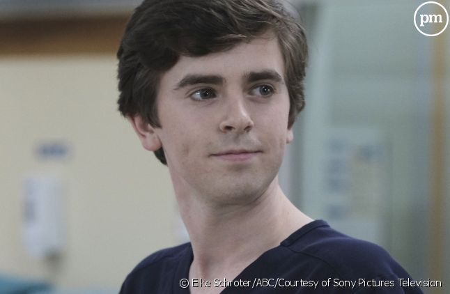 "Freedie Highmore dans ""Good Doctor"""