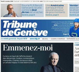 'La Tribune de Genève'