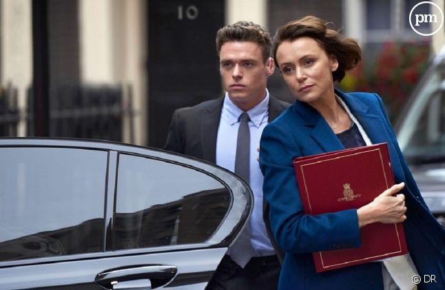 """Richard Madden et Keeley Hawes dans """"Bodyguard"""""""