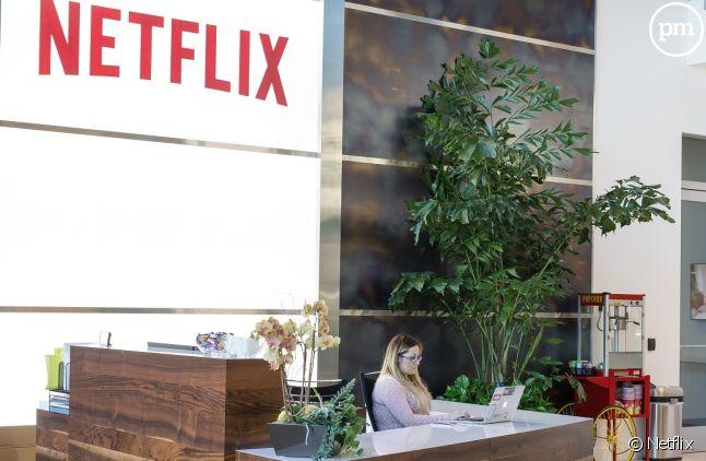 Le siège de Netflix à Los Gatos (Californie)