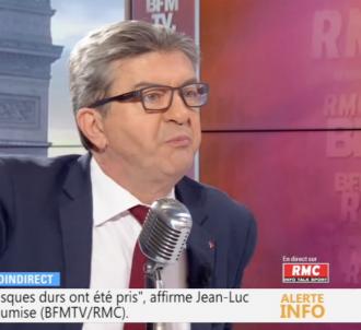 Jean-Luc Mélenchon enragé au micro de Jean-Jacques...