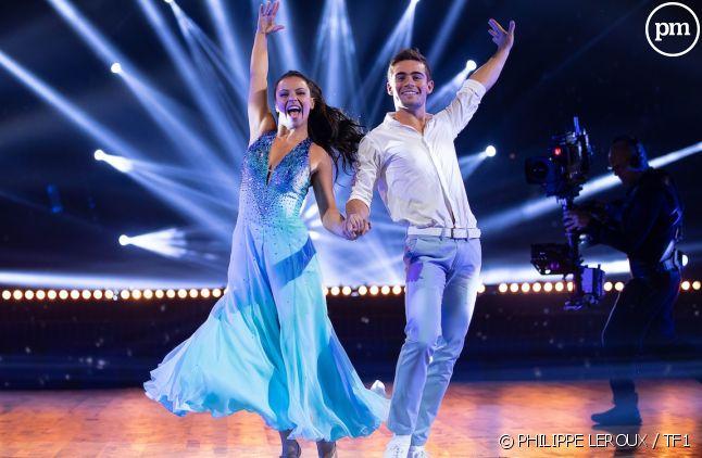 """Clément Rémiens et Denitsa Ikonomova, lors du premier prime time de """"Danse avec les stars""""."""