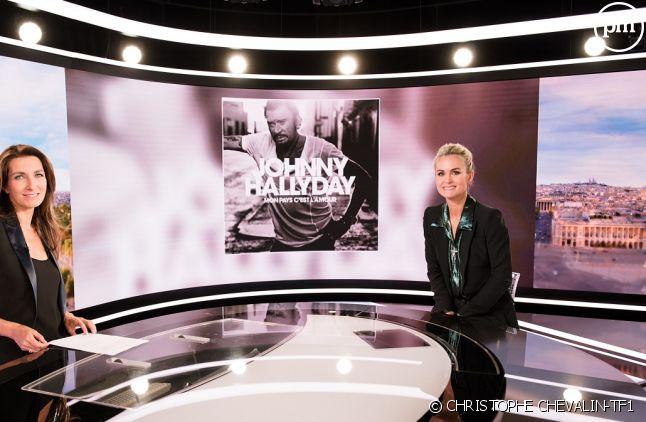 """Laeticia Hallyday dans le """"20 Heures"""" de TF1"""