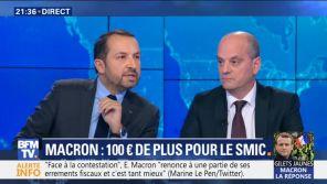 """""""Pitoyable ? Vous venez de dire pitoyable ?"""" : Sébastien Chenu et Jean-Michel Blanquer s'écharpent sur BFMTV"""