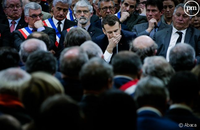 Emmanuel Macron dans le Lot