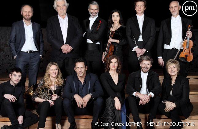 """Le cast de """"Philharmonia"""""""