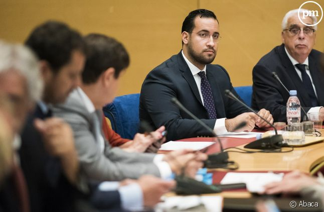 Alexandre Benalla devant la commission d'enquête du Sénat