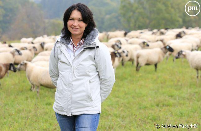 """Julie, agricultrice de """"L'Amour est dans le pré"""" en 2016"""