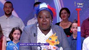 """La mère de Viviane Asseyi en larmes dans """"Le Mag"""" de TMC"""