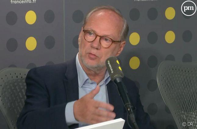 """Laurent Joffrin directeur de la publication et de la rédaction de """"Libération"""""""