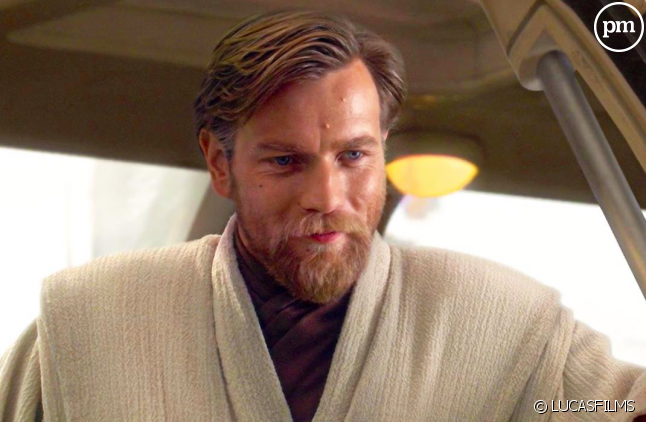 Ewan Mc Gregor dans son rôle de Obi-Wan Kenobi