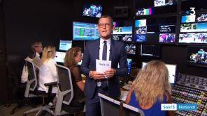 """Francis Letellier fait ses adieux au """"Soir 3"""" de France 3"""