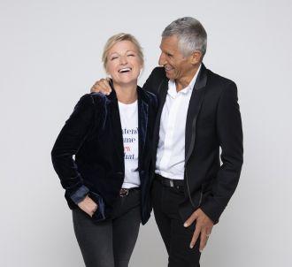Anne-Elisabeth Lemoine et Nagui