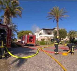 L'incendie de la villa des 'Marseillais'