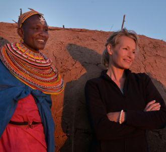 Estelle Lefébure chez les Samburu au Kenya