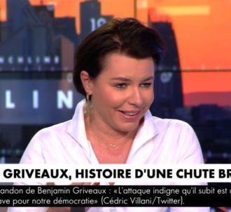 Le fou rire de Laurence Saillet sur CNews