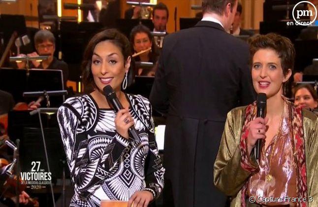 Leila Kaddour et Judith Chaine.