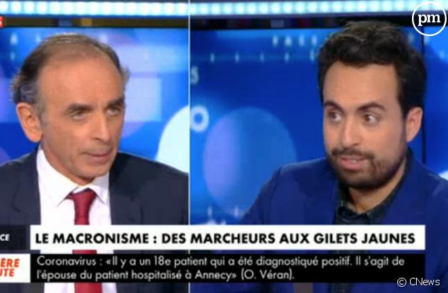 Eric Zemmour et Mounir Mahjoubi
