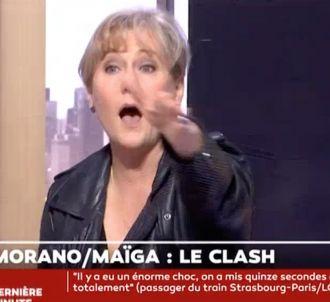 Nadine Morano s'écharpe avec Gérard Miller sur LCI.