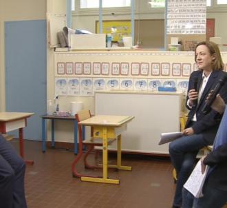 Emmanuel Macron interrogé par les journalistes de TF1 et...