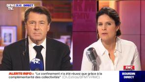 """BFMTV : Christian Estrosi déplore le """"lynchage médiatique"""" de Didier Raoult"""