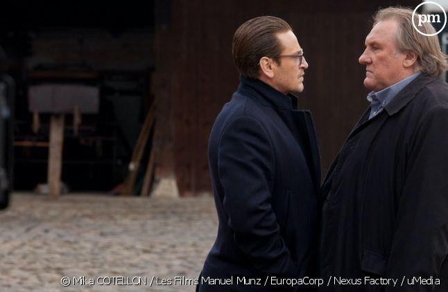 """Benoît Magimel et Gérard Depardieu dans """"Carbone"""""""