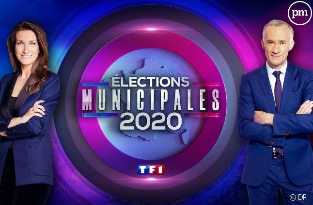 La soirée des municipales de TF1