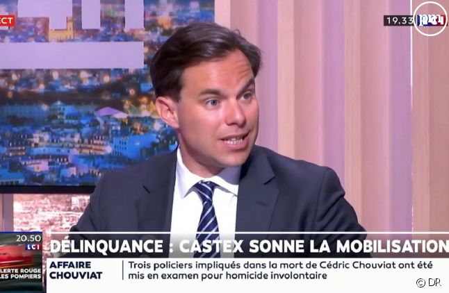 Louis de Raguenel sur LCI (Capture)