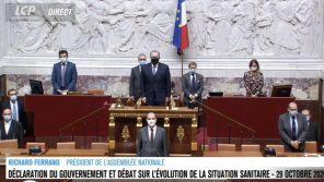 Attaque à Nice : Séquence surréaliste à l'Assemblée où une minute de silence succède à une standing ovation