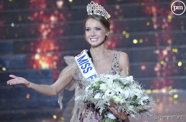 Miss Normandie, Amandine Petit, élue Miss France 2021.