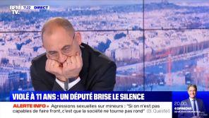 BFMTV : Le témoignage bouleversant du député Bruno Questel, violé à 11 ans