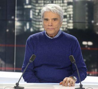 Bernard Tapie au micro de Franceinfo.
