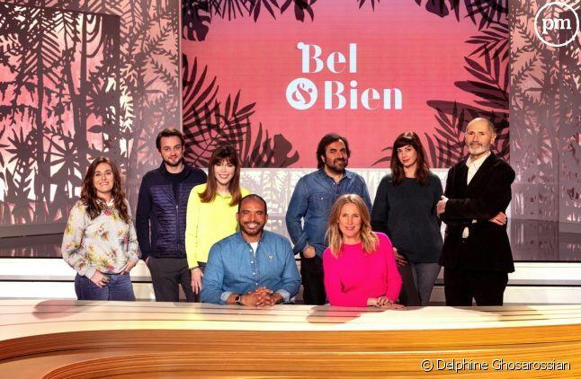"""L'équipe de """"Bel et Bien""""."""