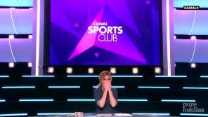 """""""Canal sports club"""" : Marie Portolano fait ses adieux en larmes"""