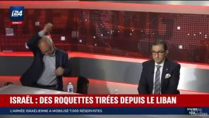 """Collaborationniste islamique"" : Attaqué par Jean Messiha, Laurent Joffrin quitte le plateau d'i24News"