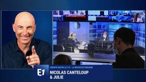 Europe 1 : En soutien aux grévistes, Nicolas Canteloup se paye Eric Zemmour et Pascal Praud