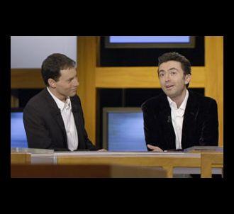Marc-Olivier Fogiel et Gérald Dahan dans 'Le grand...