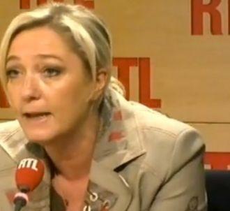 Marine Le Pen, invitée de RTL le 15 juillet 2011.