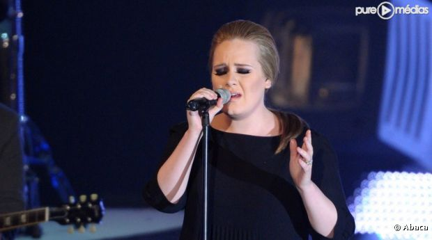 Adele aux Echo Music Awards à Berlin en mars 2011